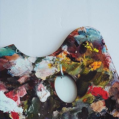 Imagen paleta pintor